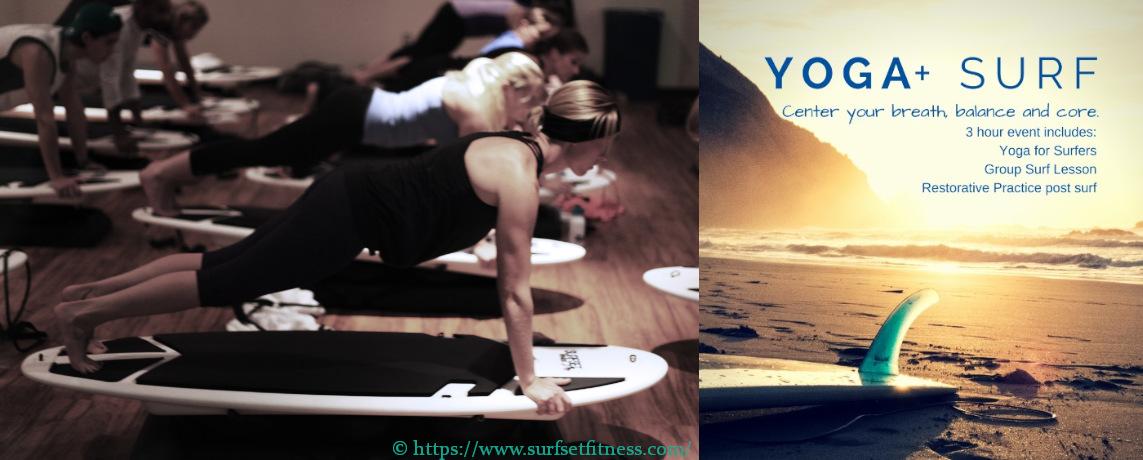 Surf Fitnesstraining besteht nicht aus Suf Yoga und Balancetraining