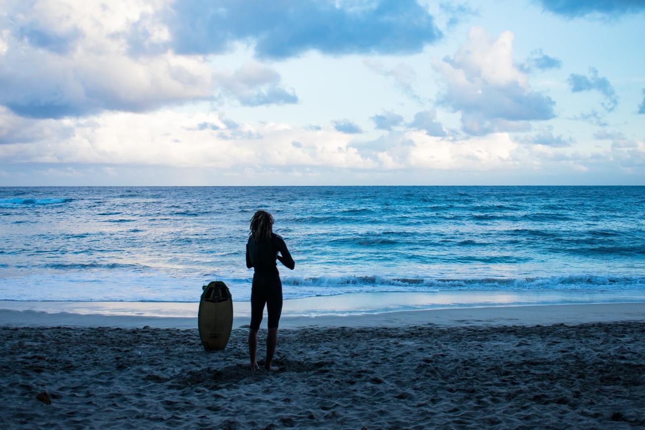 Vorbereitung Surfen