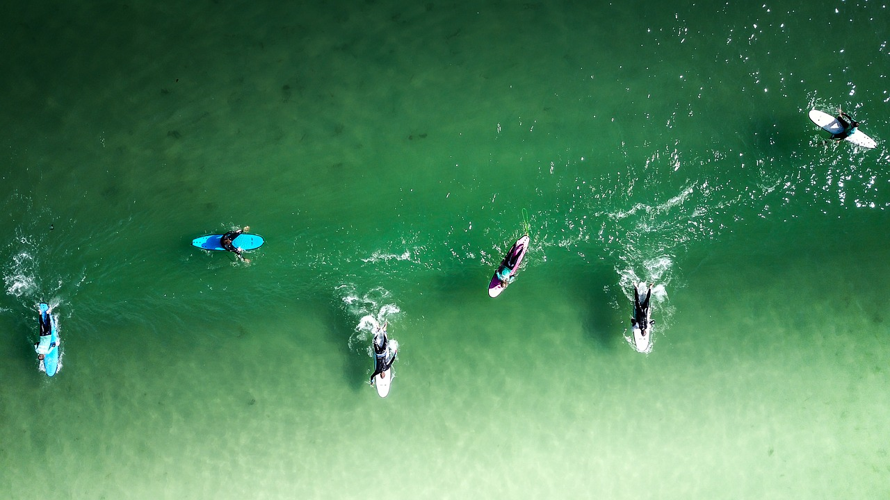 Surf Spot Check Surfspot zu viele andere Surfer volles Line Up