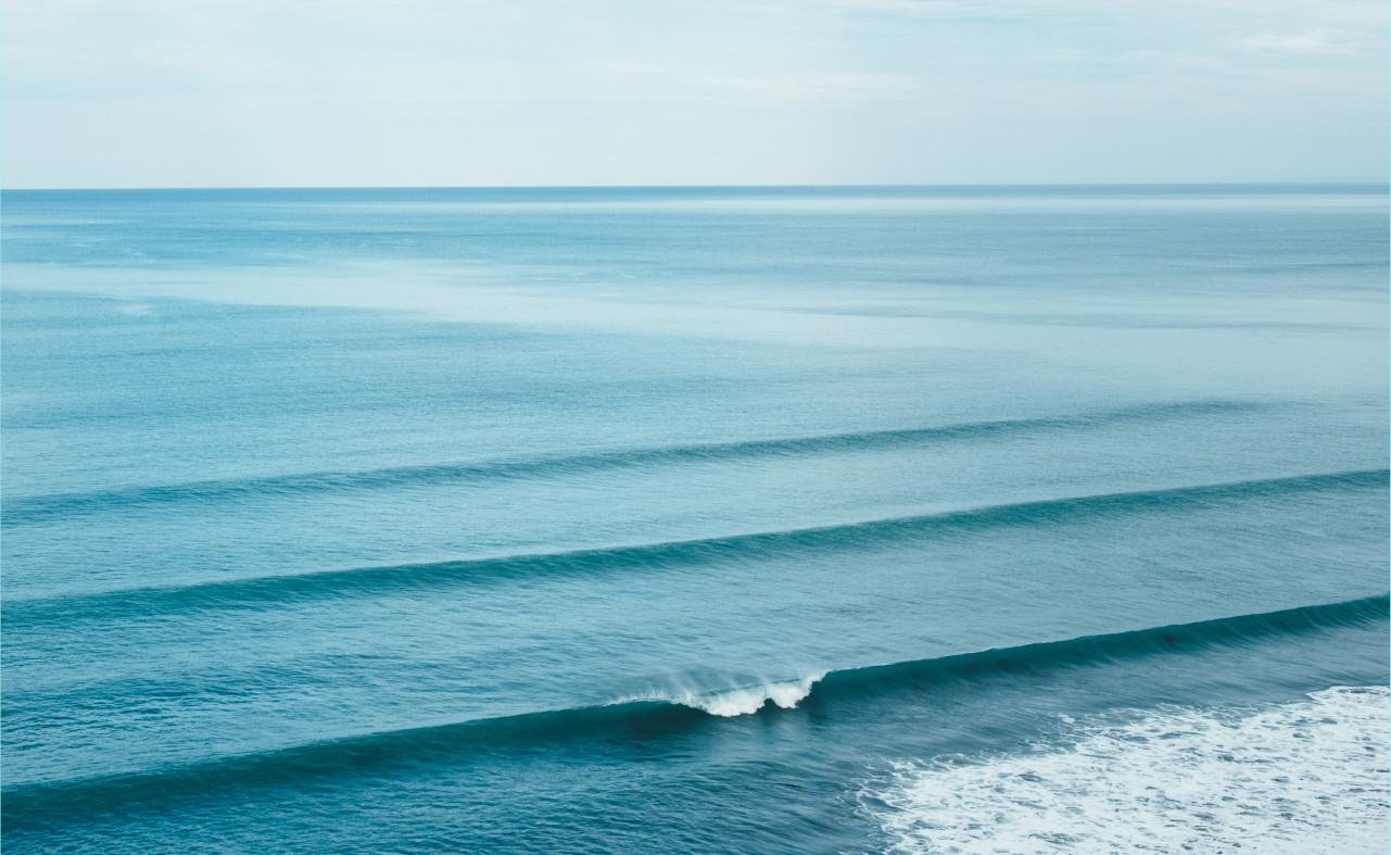 Kein anderer Surfer trotz perfekter Bedingungen Surf Spot Check Surfspot