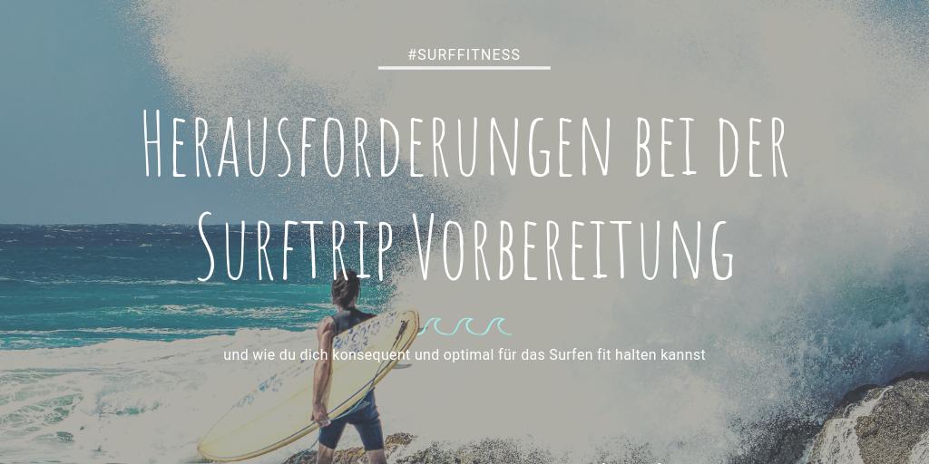 Herausforderungen beim Surf Fitness Training