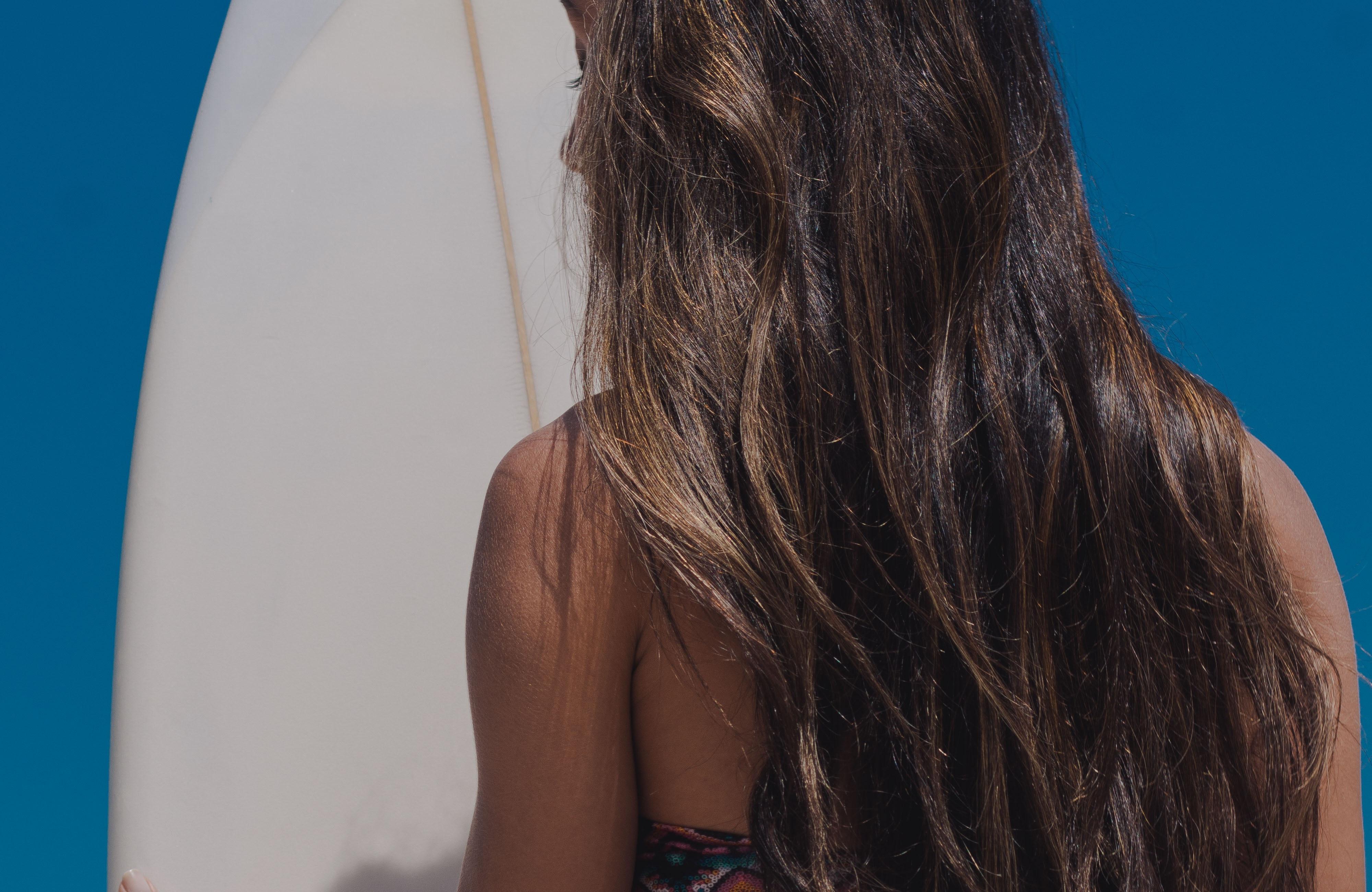 Surferhaare, Urlaubspflege , Surfen Surfurlaubfür Haare
