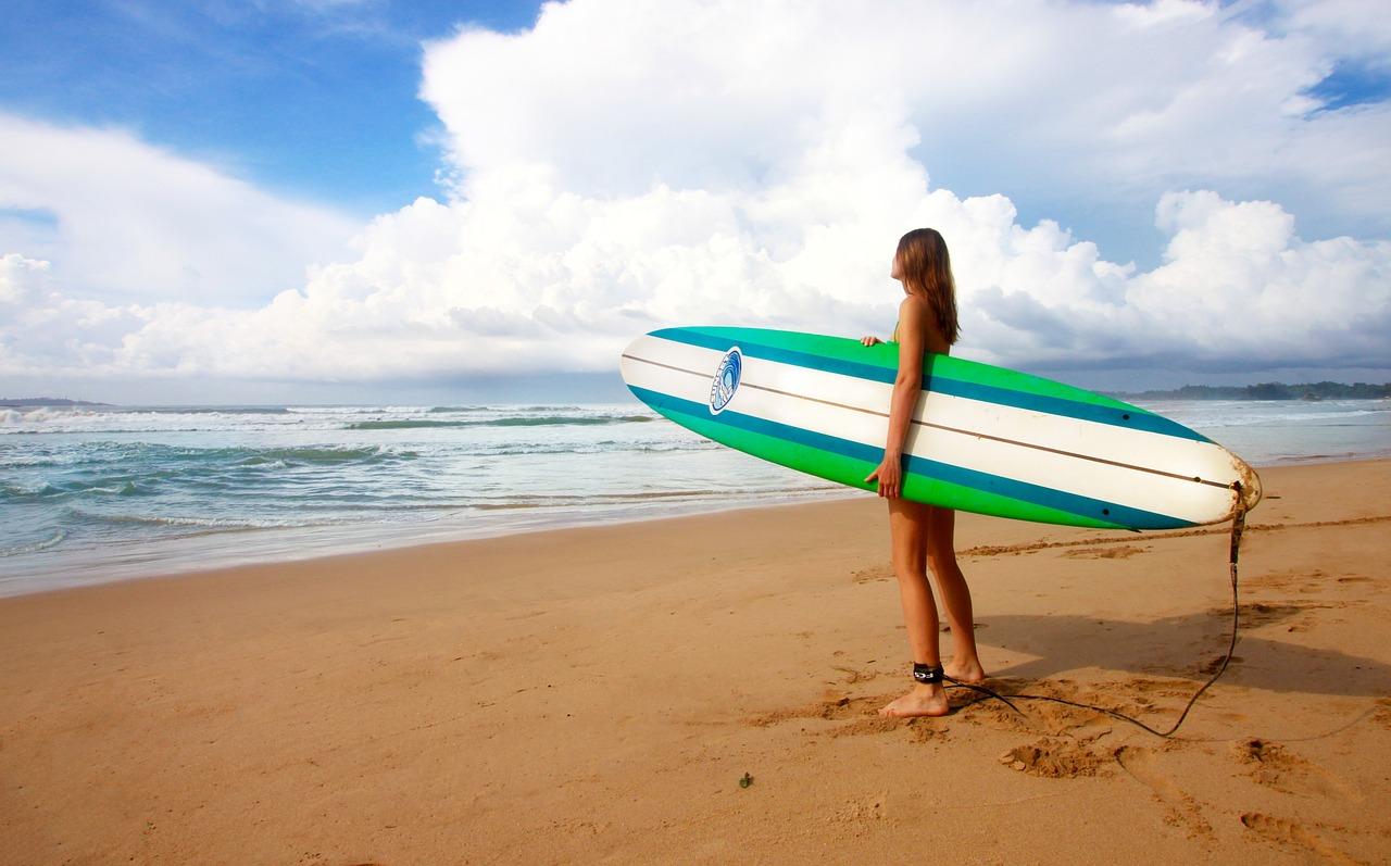 Surfer Mental trainieren