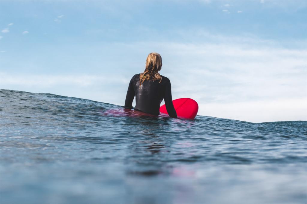 Surfen mental fit, Grenzen, Ängste Selbstbewusstsein, Demut