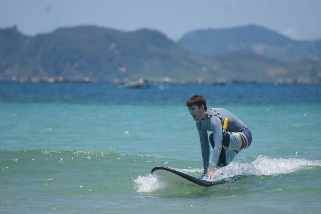 Surfen loslassen Kontrolle