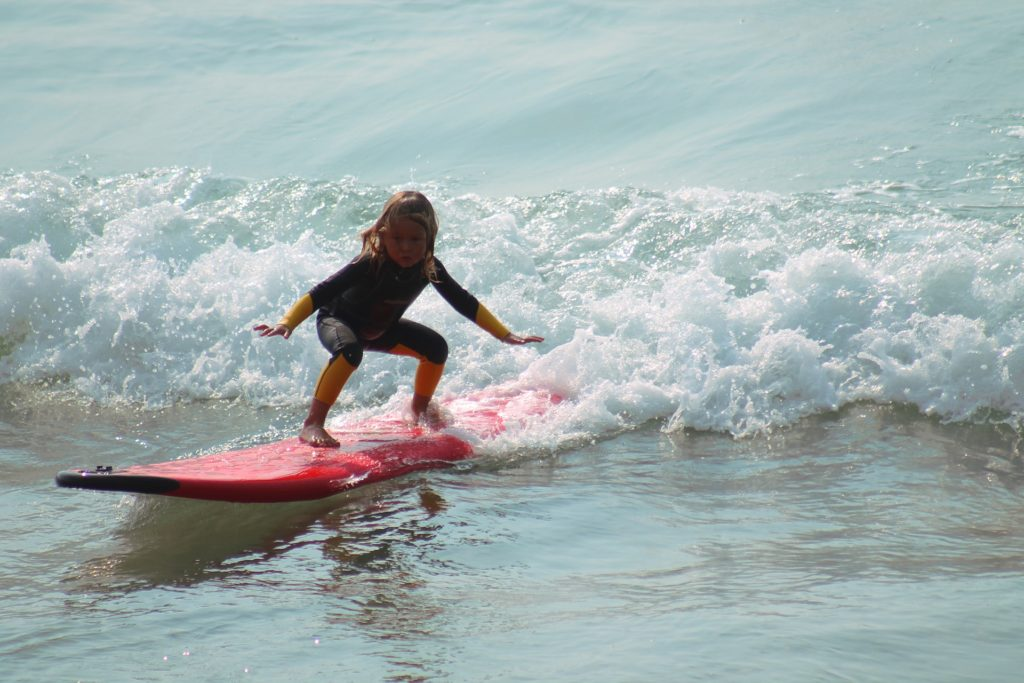 Pop Up lernen Surfen