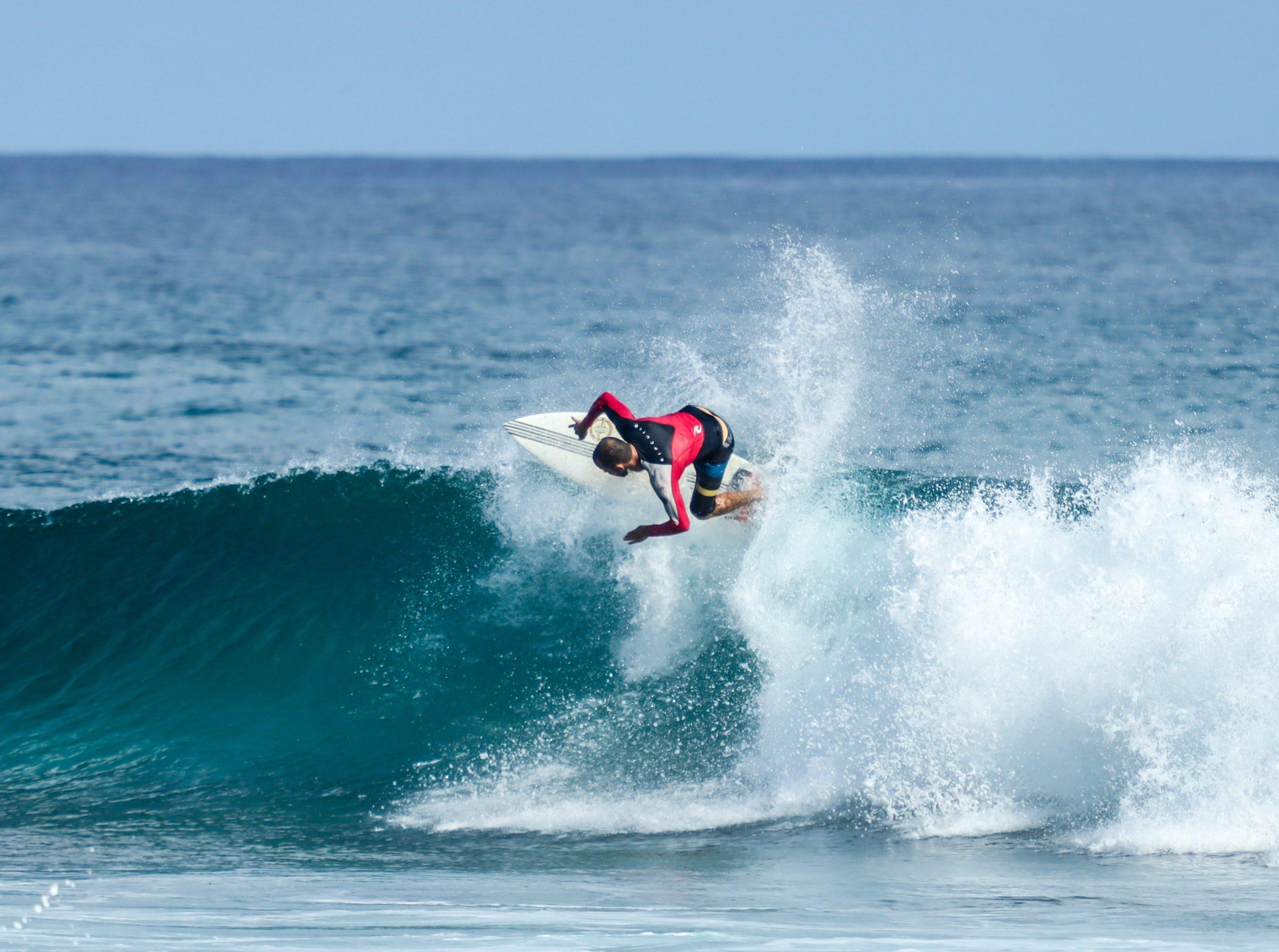Wellenreiten Top Turn lernen
