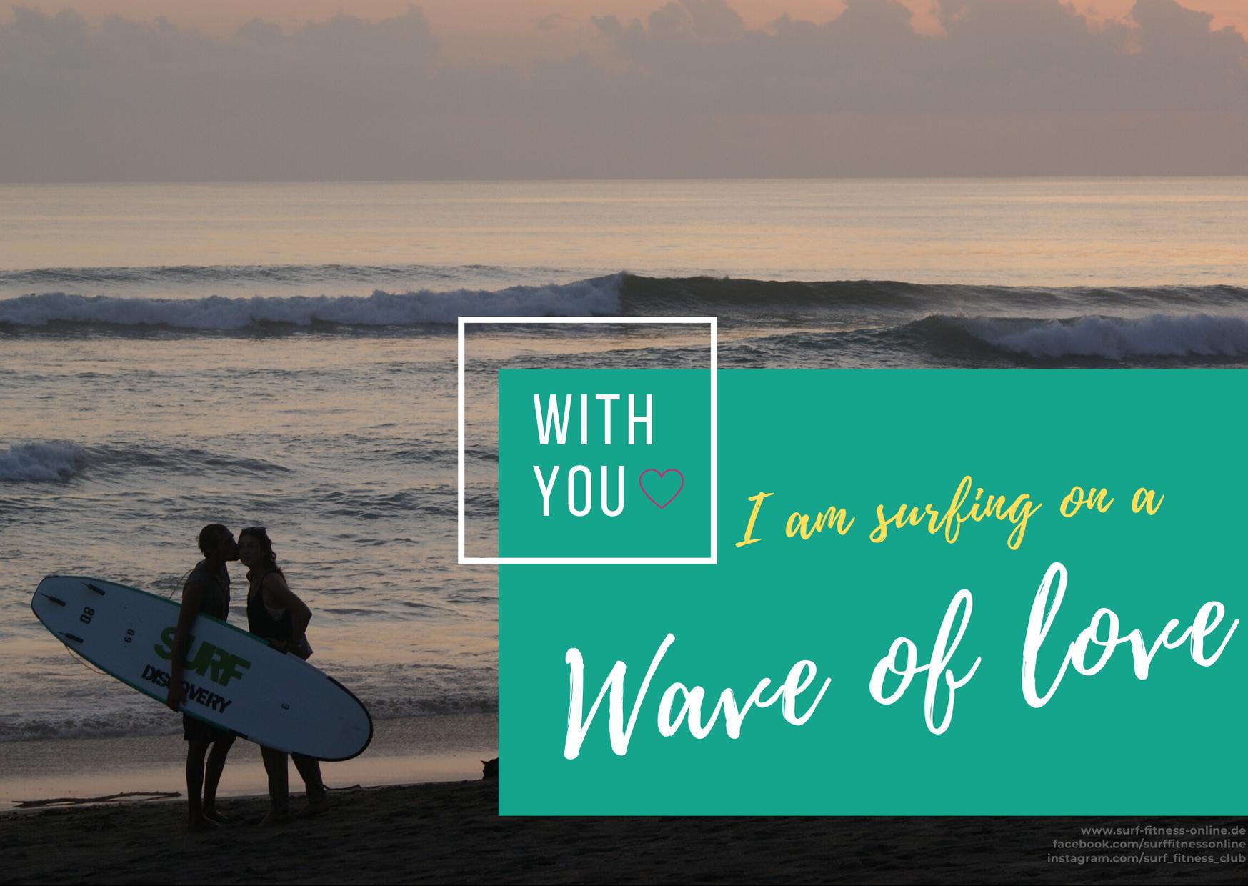 1 Valentinsgrüße für Surfer, Surfen Valentinstag