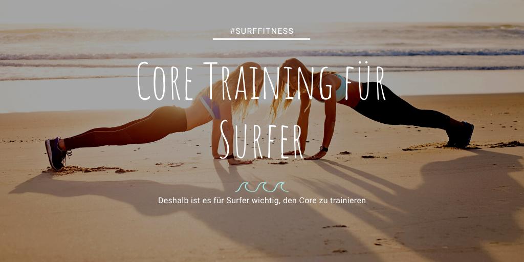 Core trainieren besser Surfen