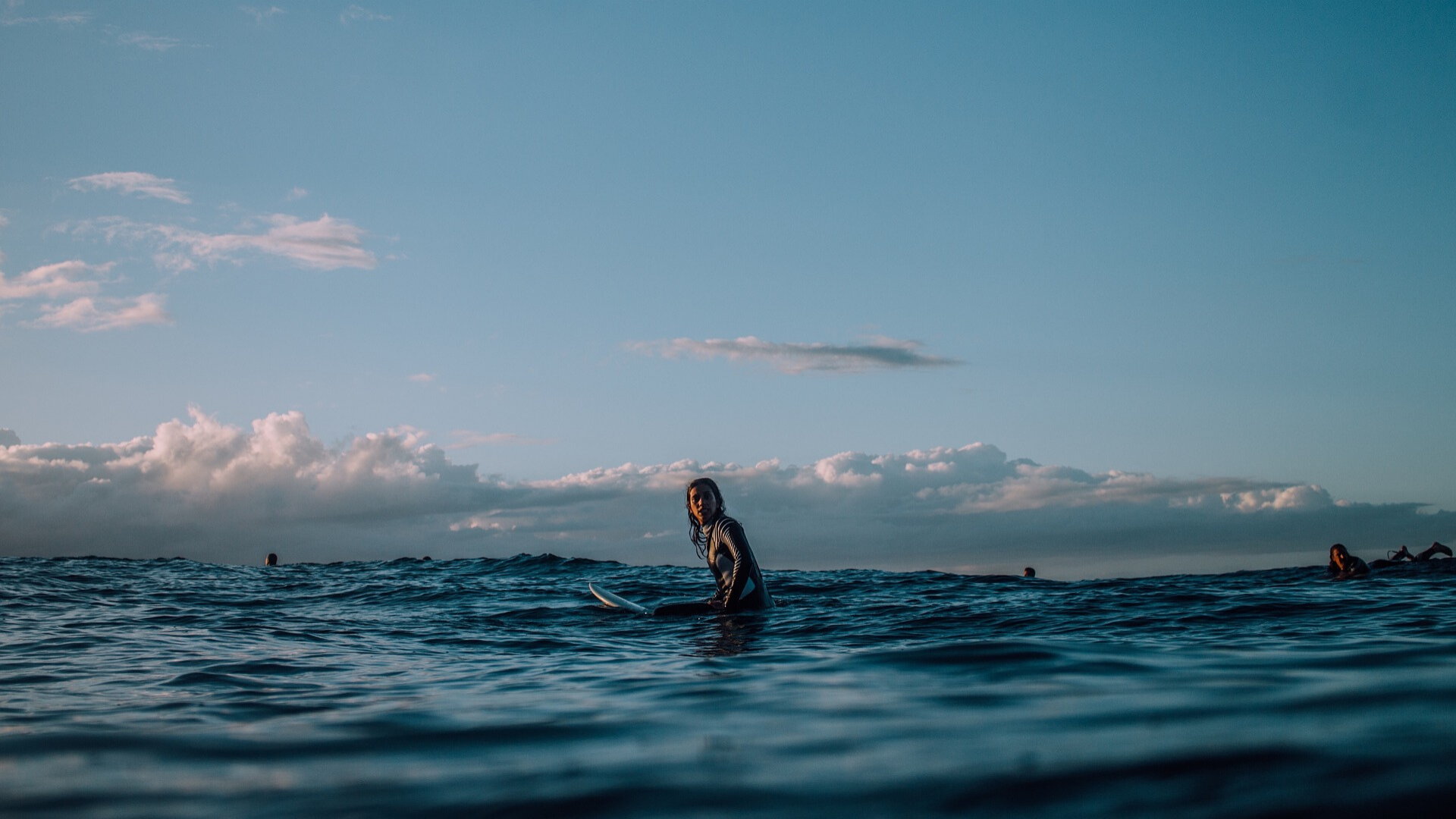 Entspannt surfen in der Surf Session