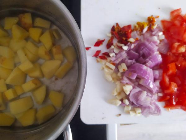 Kartoffel Spinat Rezepte für Surfer