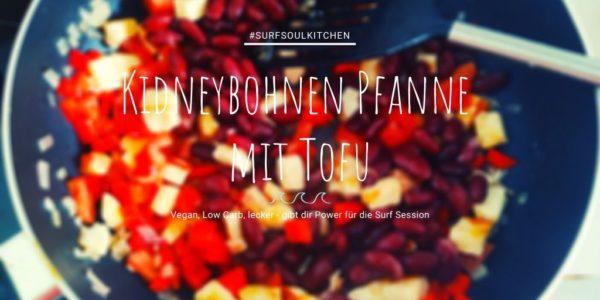 Vegane Kidneybohnen Pfanne mit Tofu 2