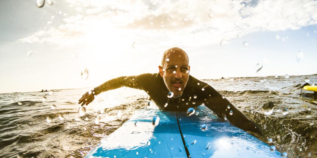 Surfen Welche Welle anpaddeln