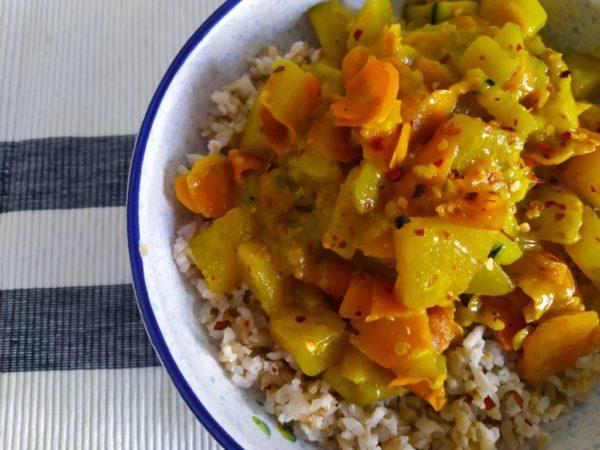 Gemüse Curry (vegan) 4