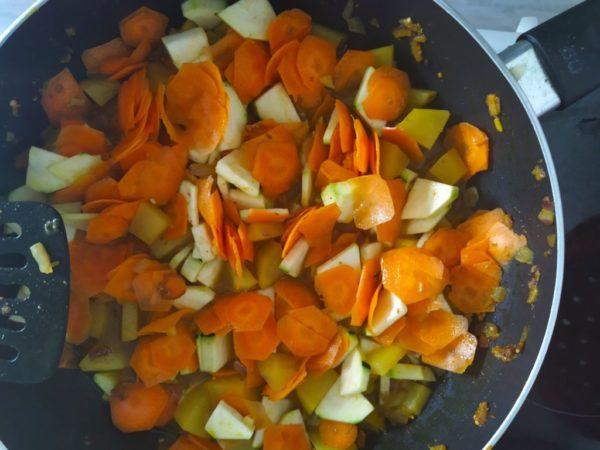 Gemüse Curry (vegan) 3