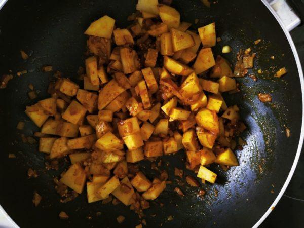 Gemüse Curry (vegan) 2