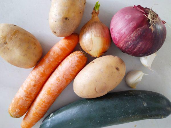Gemüse Curry (vegan) 1