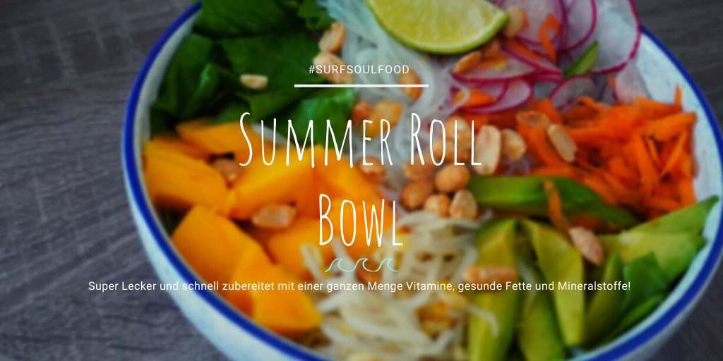 Summer Roll Bowl vegan