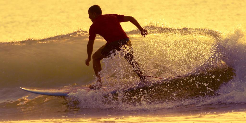 Fokus beim Surfen - Steurung der Aufmerksamkeit Fokusprobleme Surfer