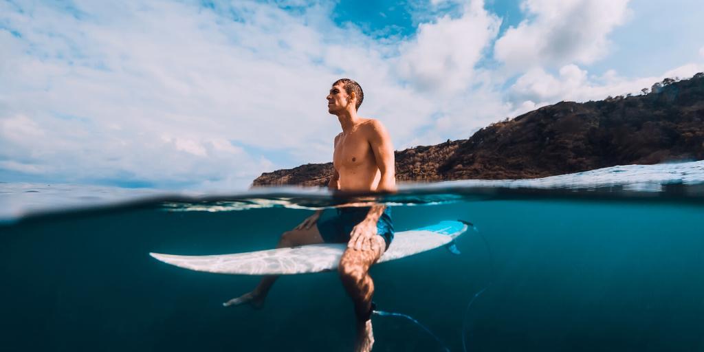 Surfen Surfer Aufmerksamkeit Mentaltechnik