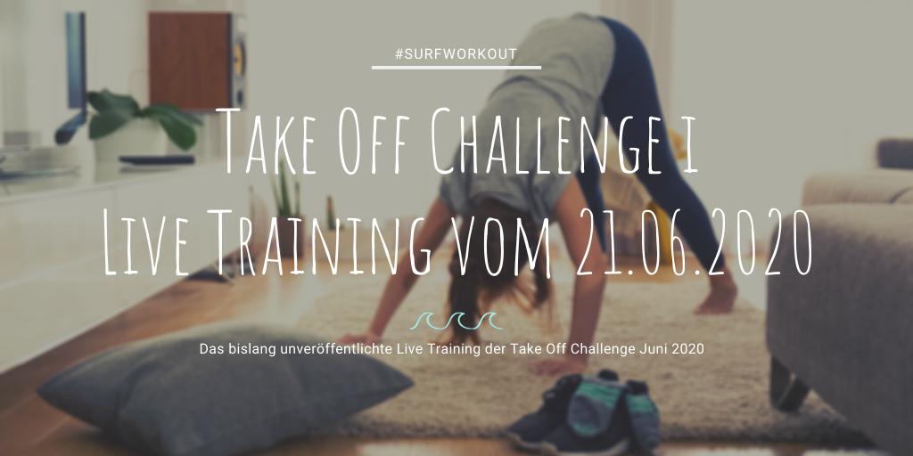Live Training Take Off Challenge