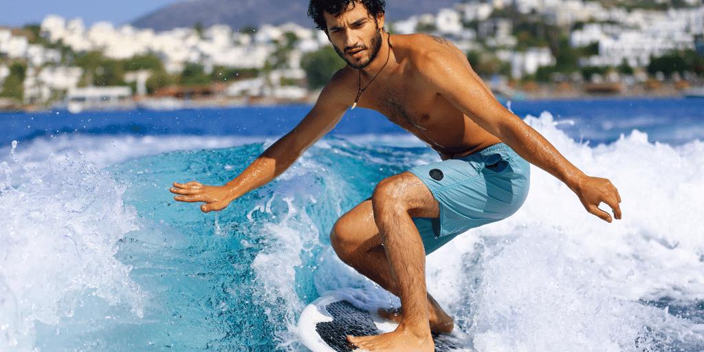 Welche Muskeln braucht man beim Surfen