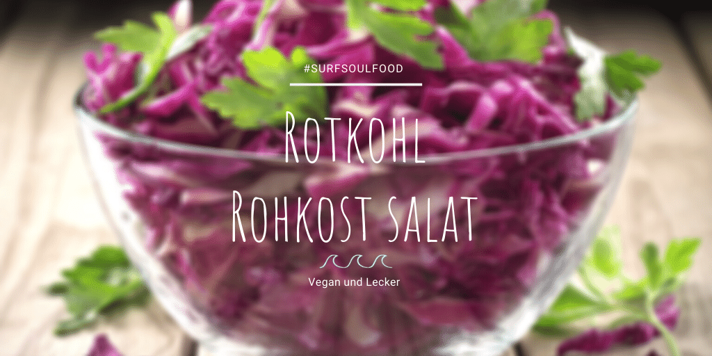 Rotkohl Salat SurfFitness Food