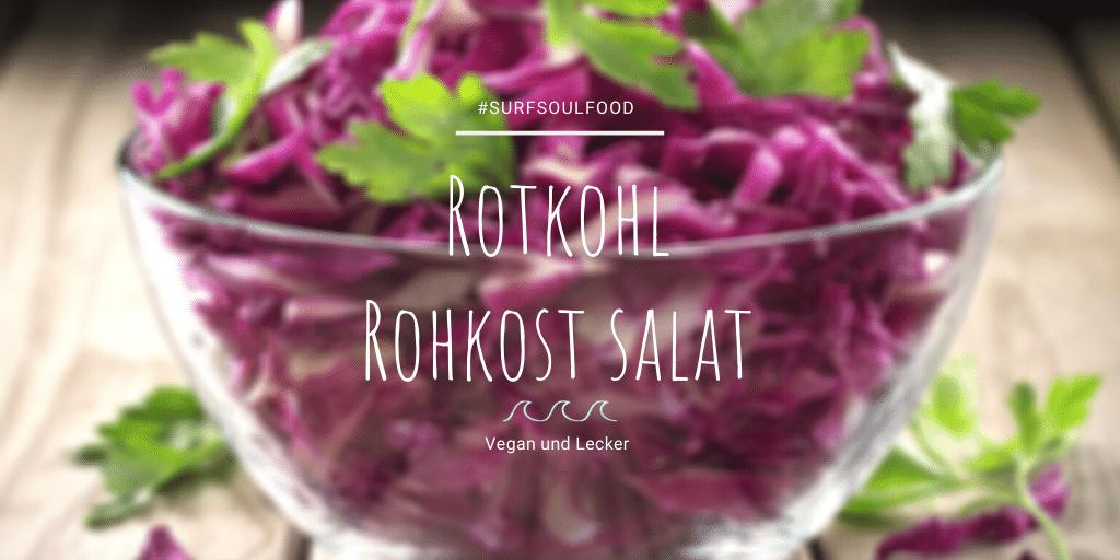 Rotkohl Salat SurfFitness Food