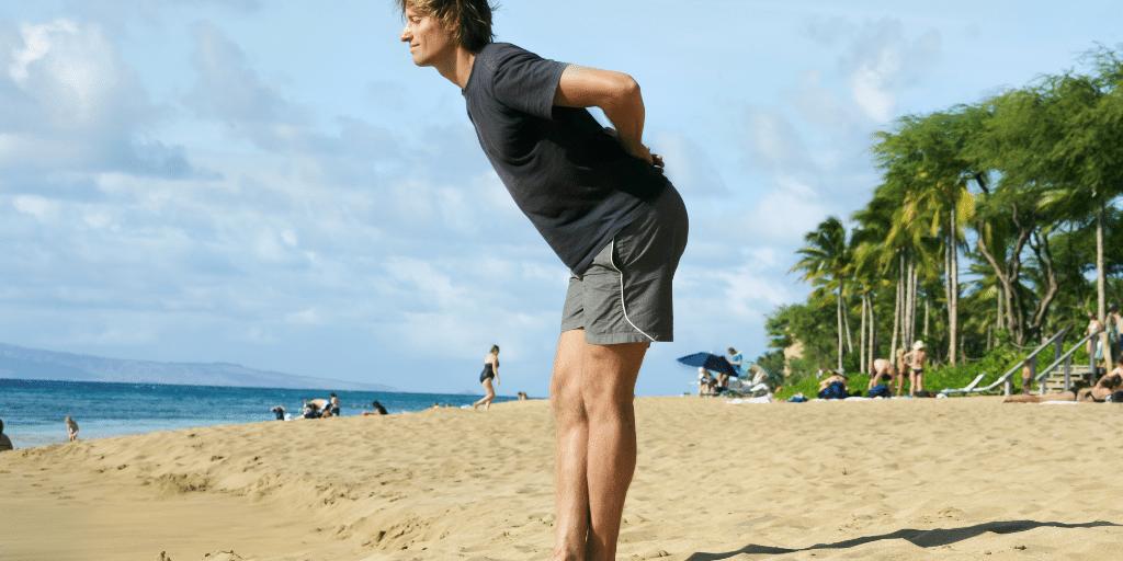 Surfyoga für die Hamstrings