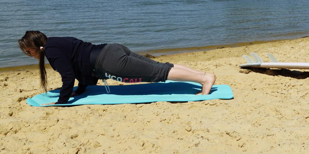 Surfworkout für die Paddelpower