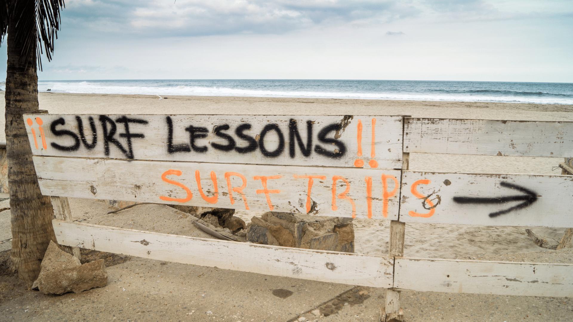 SurfBlog Vorbereitung auf das Surfen lernen zuhause