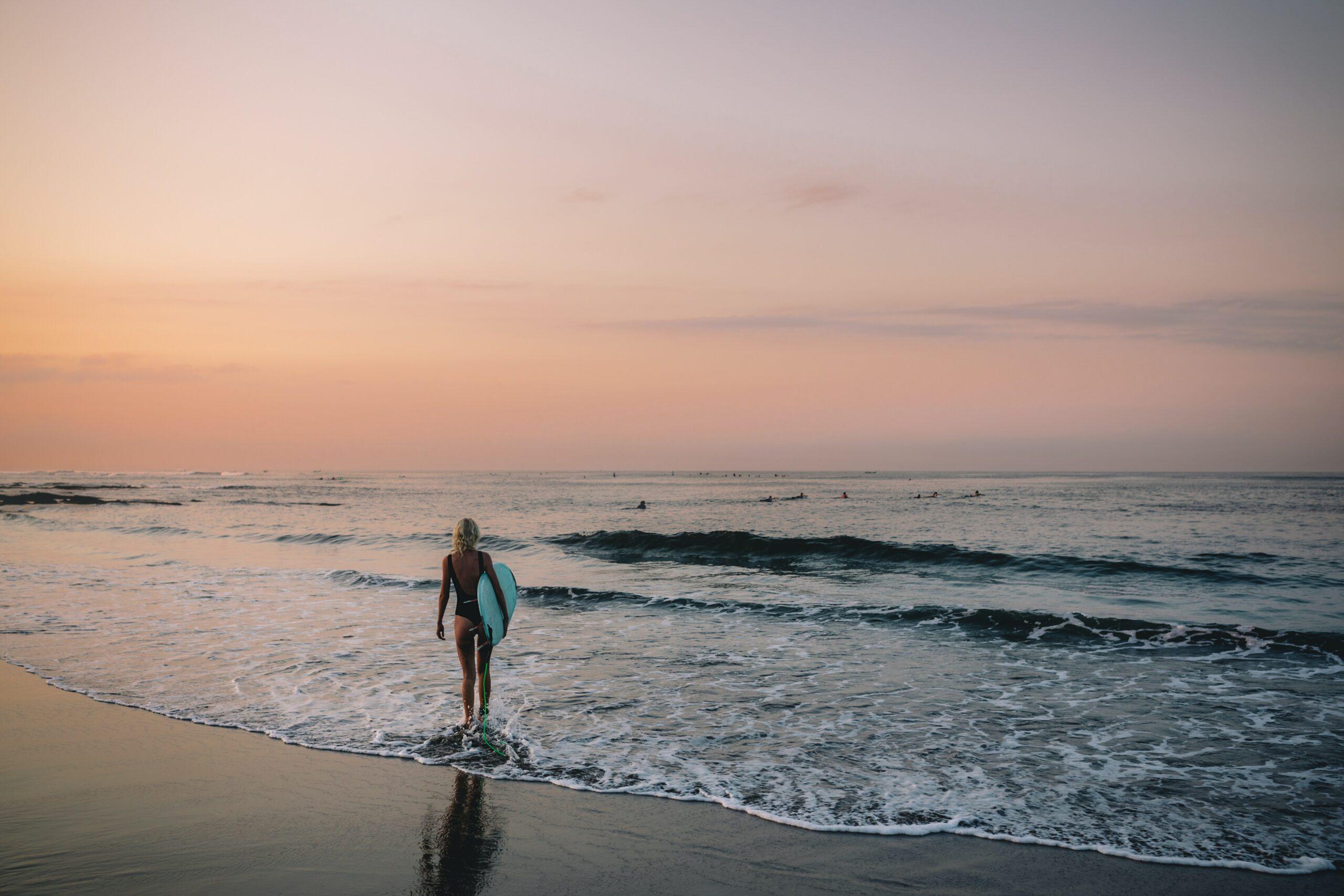 Surfworkout zur Vorbereitung auf den Surftrip