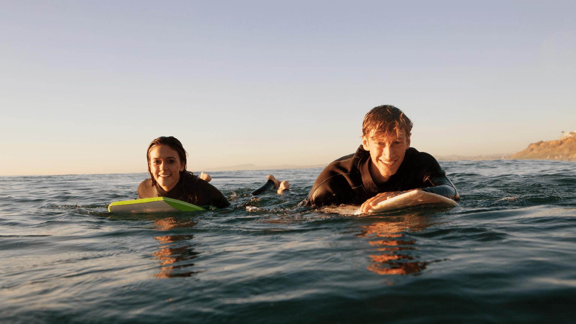 Stoke - Surfen und seine positiven mentalen Effekte.