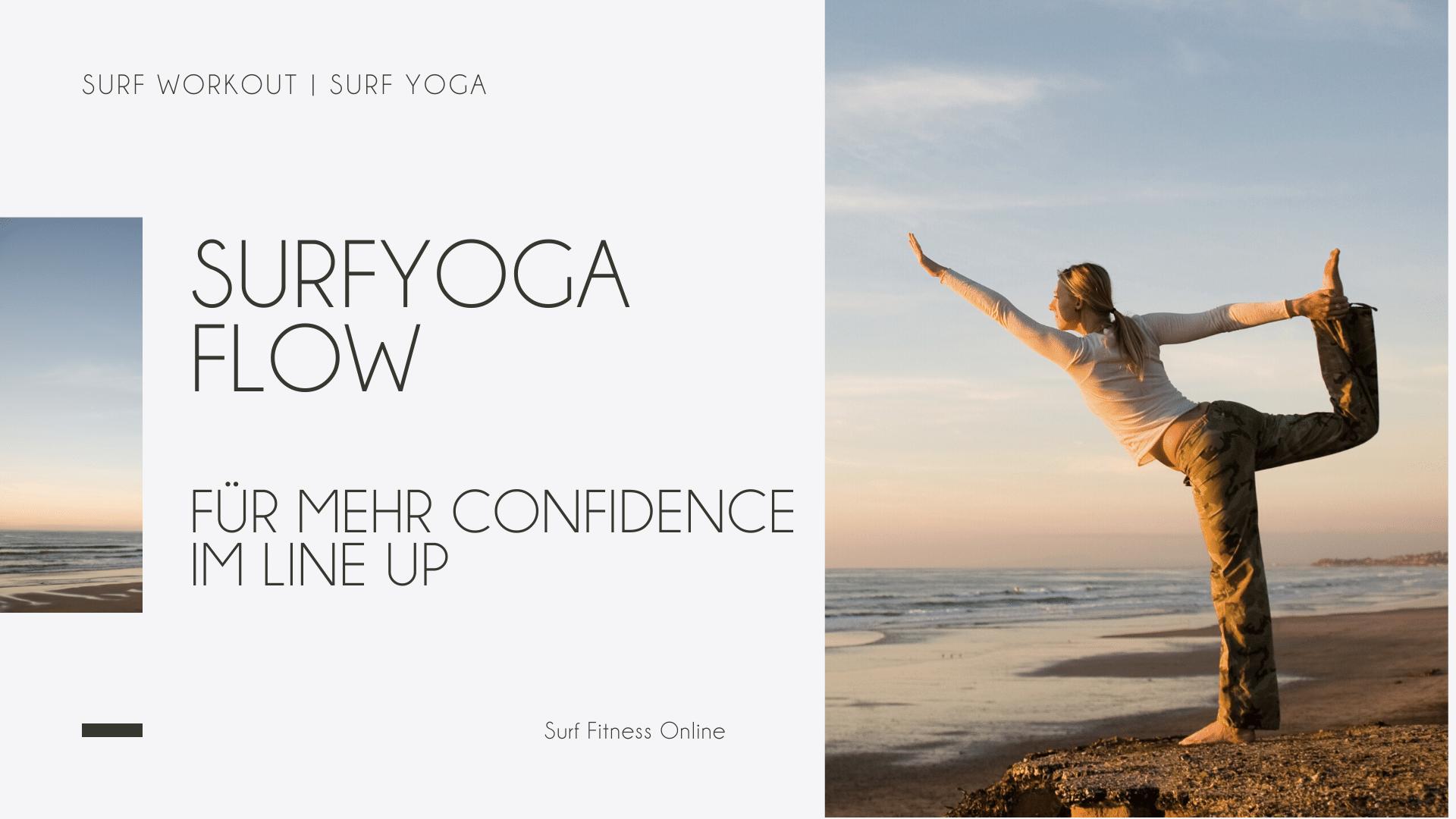 Surfyoga Flow für mehr Confidence im Line Up