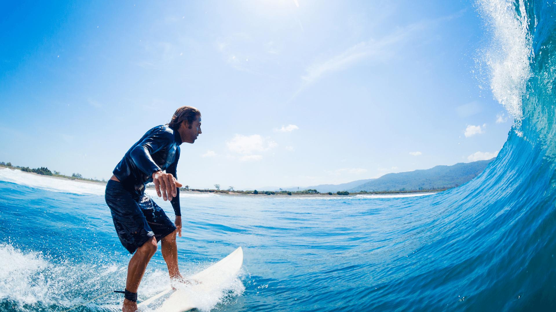 Cutback Surfmanöver