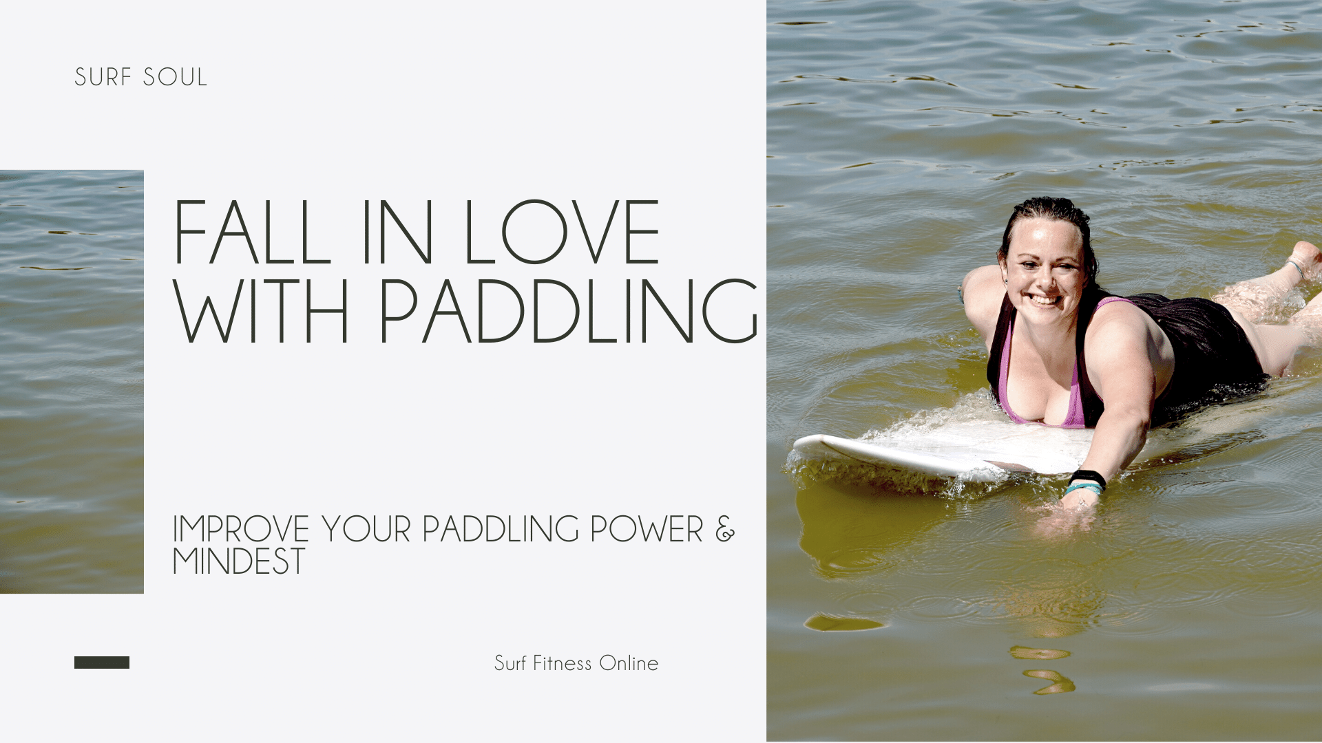 Fall in love with paddling
