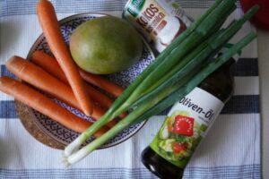 Möhren-Mango-Suppe Zutaten
