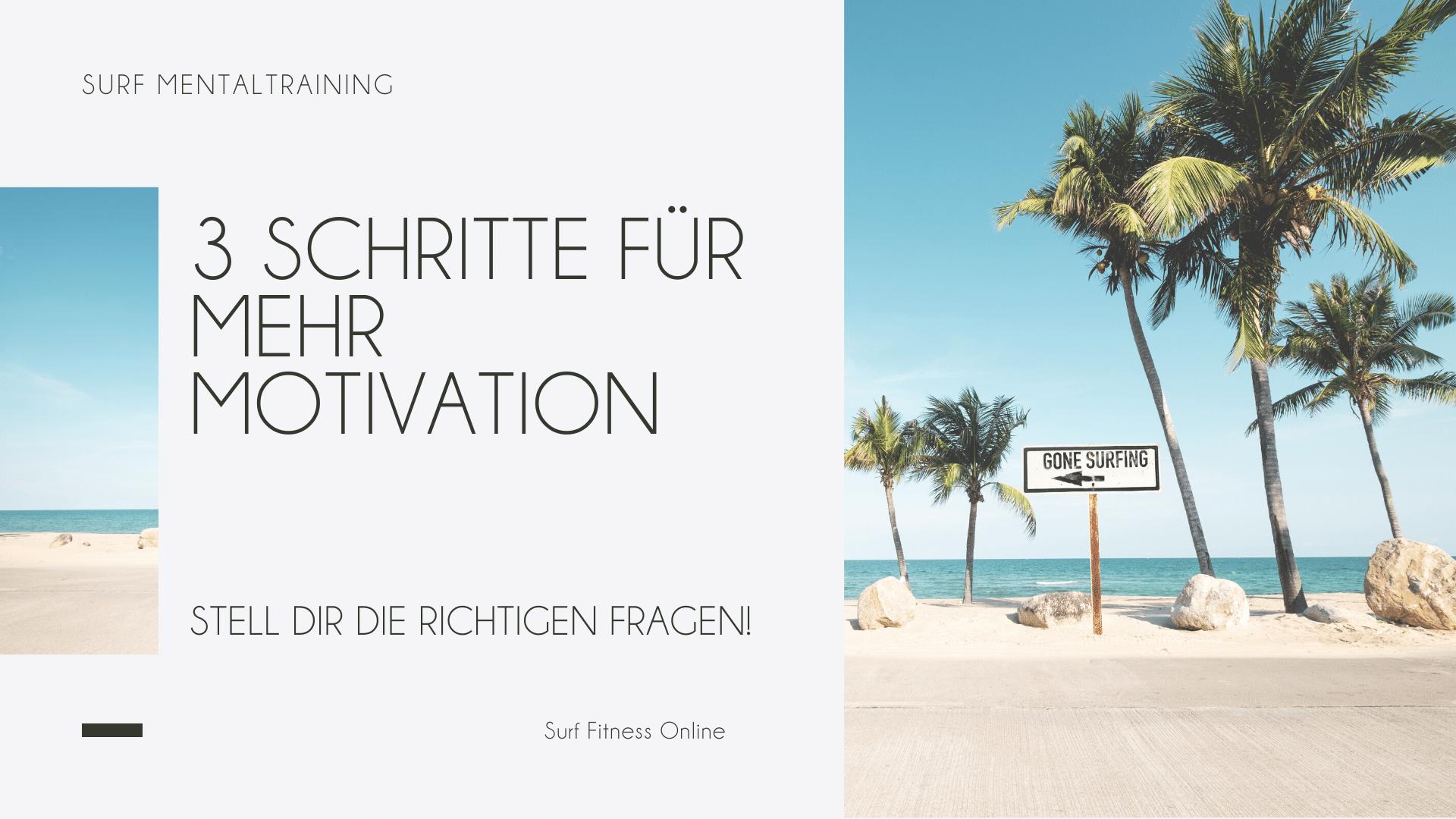 Mehr Motivation für dein Surf Fitness Training 4